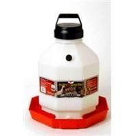 PLASTIC POULTRY WATERER, Color: RED; Size: 5 GALLON (Catalog Category: Barn & Stable Supplies:WATERING EQUIPMENT)