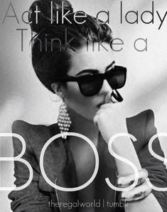 Lady Boss #Success #Entrepreneur #women Like A Boss, Boss Lady, Business Women Quotes, Business Woman Quotes, Inspir, La...