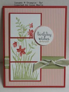nice layout, cake, birthday card, card idea, 60th birthday