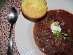 Beef Chili- 5 points+, crock pot