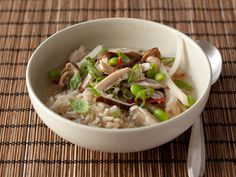 Chicken-Scallion Rice Bowl Recipe : Food Network Kitchen : Food Network - FoodNetwork.com
