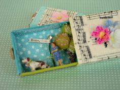 match box, craft, altoid tin, art box, fairi