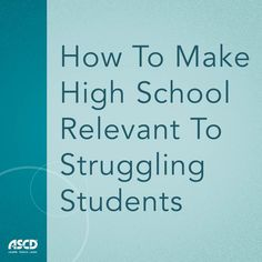 Here are ways you can offer more options for students who aren't thriving in a traditional academic setting.
