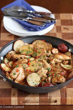 One-Pot Cumin & Smoked Paprika Chicken with Potatoes Recipe | cookincanuck.com