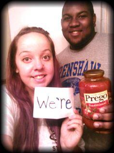 We're Pregnant Announcement!!!