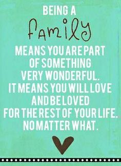"After the awesome time spent with family today it makes you realize how much ""FAMILY"" means and how much LOVE we share! My parents and brothers and sisters are awesome!"
