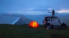 Camping (Vik, Iceland)