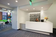 Zipcar®, the world's largest car sharing and car club service, recently partnered with Milliken to outfit portions of its Boston location in Theory 2.0. ©2013 Warren Patterson