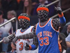 #Venom x 2! New York #Knicks