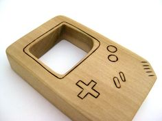 Nintendo Game Boy teether. Etsy. $9