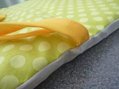 DIY Crib Bumper- oh another project. I think I'll be making my crib bedding!