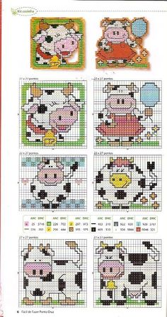 Free cross stitch patterns.