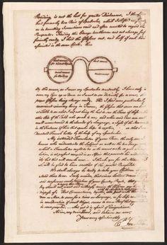 """Les """"doubles lunettes"""" de Benjamin Franklin"""