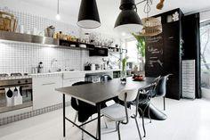 Modern Bistro Chic Dining Room