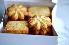 Spritz Butter Cookies/Icebox Cookies -- gluten-free