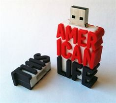 Custom USB drive with 35 HOURS of This American Life (plus video!) $29
