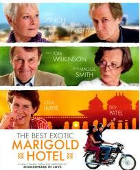 "The full title ""The best exotic marigold hotel for the elderly and the beautiful""... already made me smile...With a plethora of great British actors and actresses performing with all their art and very good dialogues, it mixes light drama, comedy and keeps the laughs coming. It sure does play on stereotypes of all kinds, from old age, racism, to a chaotic India battling western & traditional values, but it doesn't really matter because they are not too heavy and the whole thing is good hearted."