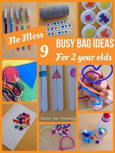 9 Busy bag ideas