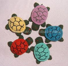 Crochet turtles :) so cute IDEA