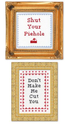 Subversive Cross Stitch rocks my face off.
