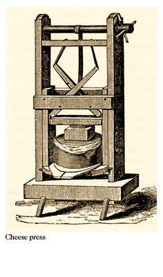 A VT cheese press