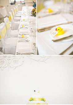rubber duckies as wedding favours!
