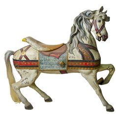 Carousel Horse by Gustave Dentzel