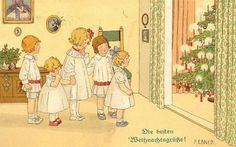 Pauly Ebner - Children at Christmas
