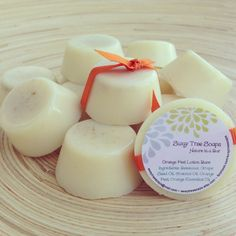 Orange Peel Lotion Bar