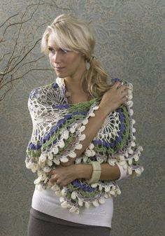 La Paloma Wrap - Wow!   Free crochet pattern