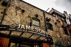 Jameson Distillery in Dublin, Ireland