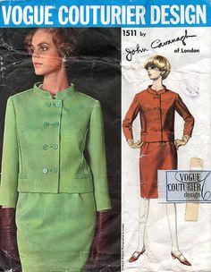 1960s Vogue Couturier Design 1511 John Cavanagh by BessieAndMaive, $80.00 #60s #retro #vintage