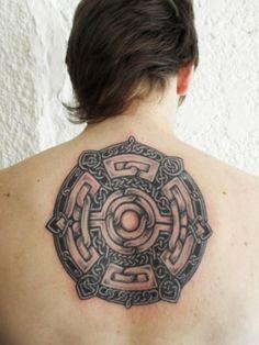 Celtic Tattoo for Back