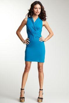 EcoSkin  Auberdine Dress  #HLsummer