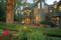 This home has us seeing green! Aspen, CO Coldwell Banker Mason Morse Real Estate