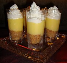 Life Of The Party Always!: Limoncello Mascarpone Verrines