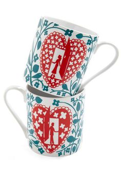 Letter Together mug set