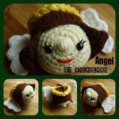 Ravelry: xnekochan's Angel -  Crochet Christmas Ornaments