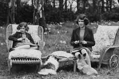 princesses margaret & elizabeth WWII
