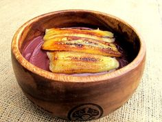 Ghana-inspired Grilled Plantain Acai Bowl