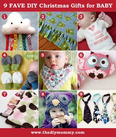 A Handmade Christmas: 9 Favourite Christmas Gifts for Baby