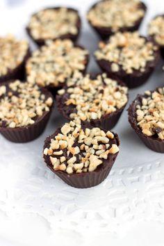 Chocolate Hazelnut Truffle Cups - Erren's Kitchen - This easy to make ...