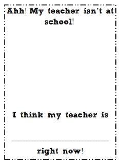 classroom idea, sub plans, school, blue sky, grade blue, kindergarten, freebies for teachers, writing activities, first grade
