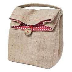 Great little shape for a grown up lunch bag $20