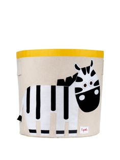 """9. 3 Sprouts Bins – """"Storage is essential in the nursery. These cute animal bins are the perfect size to store toys, books or even laundry. And who can resist those adorable animal faces?"""""""