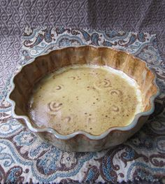 Hand Building Pottery Ideas | Hand built Pottery Tart dish- l love the way this ... | Pottery Ideas