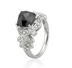 Black Diamond Ring Leone Collection