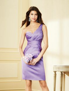 Alfred Angelo Short Bridesmaid Dress 7291S