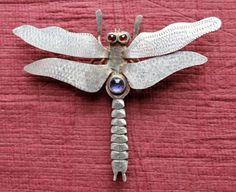 Bejeweled Dragonfly Brooch