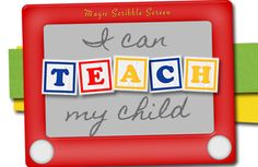 I Can Teach My Child...Great site with teaching activities for children from birth to 6+